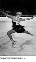 0108093 © Granger - Historical Picture ArchiveVERA HRUBA RALSTON   (c1920-2003). Czech figure skater and actress. Photographed during an event at the 1936 Winter Olympic Games in Garmisch-Partenkichen, Germany.