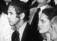 0109686 © Granger - Historical Picture ArchiveDANIEL ELLSBERG (1931- ).   American military analyst and political activist. Photographed in 1973 during his trial for stealing and copying the secret Pentagon Papers on the origins of the Vietnam War, and communicating them to the press for publication.