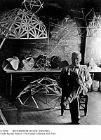 0110240 © Granger - Historical Picture ArchiveBUCKMINSTER FULLER (1895-1983).   American inventor, architect and engineer.