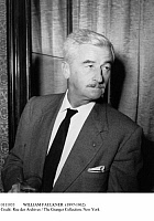 0111033 © Granger - Historical Picture ArchiveWILLIAM FAULKNER (1897-1962).   American writer. Photographed in Paris, France, c1955.