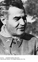 0111174 © Granger - Historical Picture ArchiveMANFRED STERN (1896-1954).   Also known as Emilio Kléber. Soviet military intelligence officer. Photographed in 1936 as General Kléber, head of the International Brigade, which fought on the Republican (Loyalist) side in the Spanish Civil War, 1936-1939.