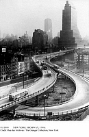 0111800 © Granger - Historical Picture ArchiveNEW YORK: HIGHWAY, 1930s.   The elevated West Side Highway in lower Manhattan, 1930s.