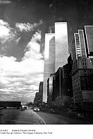 0111825 © Granger - Historical Picture ArchiveWORLD TRADE CENTER.   The twin towers of the World Trade Center in New York seen from West Street, c1975.