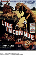 0112016 © Granger - Historical Picture ArchiveFILM: UNKNOWN ISLAND, 1948.   French poster for the American film 'Unknown Island,' directed by Jack Bernhard, 1948.