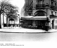 0112861 © Granger - Historical Picture ArchivePARIS: METRO, c1905.   Entrance to the Metro at Restaurant La Rotonde, Boulevard Montparnasse, Paris, France, c1900-1910.