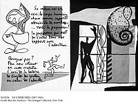 0114526 © Granger - Historical Picture ArchiveLE CORBUSIER (1887-1965).   Assumed name of Charles Edouard Jeanneret-Gris. Swiss architect and city planner. 'Poem of the Straight Angle,' written and illustrated by Le Corbusier, 1955.