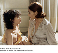 0115596 © Granger - Historical Picture ArchiveMADAME CLAUDE, 1977.   Still from the film, 'Madame Claude,' by Just Jaeckin, starring Francoise Fabian (right) and Dayle Haddon (left), 1977.