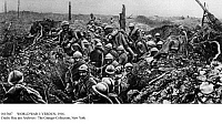 0115687 © Granger - Historical Picture ArchiveWORLD WAR I: VERDUN, 1916.   French troops re-capturing Fort Douaumont from German forces in Verdun, France, October 1916.