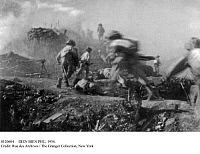 0120604 © Granger - Historical Picture ArchiveDIEN BIEN PHU, 1954.   Viet Minh soldiers destroying the last French position on C1 hill during the Battle of Dien Bien Phu, in the French Indochina War, 13 March - 7 May 1954.