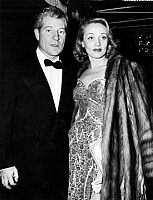 0127242 © Granger - Historical Picture ArchiveJEAN GABIN (1904-1976).   Actors Jean Gabin and Marlene Dietrich at a Los Angeles, California restaurant in 1941.
