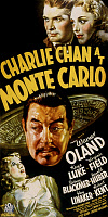 0131882 © Granger - Historical Picture ArchiveFILM: CHARLIE CHAN, 1937.   Poster for the film 'Charlie Chan at Monte Carlo,' starring Warner Oland in the title role, 1937.