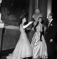 0135816 © Granger - Historical Picture ArchiveBAL A VERSAILLES.   Ball at Versailles castle : here models Lucie Daouphars, called Lucky and Freddy on may 25, 1952. Full credit: AGIP - Rue des Archives / Granger, NYC -- All rig