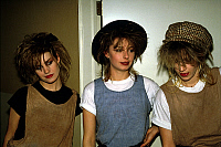0135934 © Granger - Historical Picture ArchiveBANANARAMA.   English pop group Bananarama with 3 girls : Siobhan Fahey, Keren Woodward, Sara Dallin c. 1982. Full credit: AGIP - Rue des Archives / Granger, NYC -- All rights rese