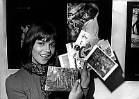 0137571 © Granger - Historical Picture ArchiveCHANTAL GOYA.   French singer Chantal Goya during United Nations International Children Imergency Fund greeting cards campaign in support of children here in Paris october 1969. Full credit: AGIP - Rue des Archives / Granger, NYC -- All rig