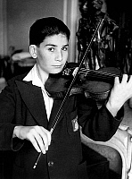 0138142 © Granger - Historical Picture ArchiveCHRISTIAN FERRAS.   Christian Ferras, child prodigy, at 11 he won 1st conservatory prize, july 1946. Full credit: AGIP - Rue des Archives / Granger, NYC -- All rights reserved.