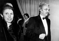0139445 © Granger - Historical Picture ArchiveDANIEL TOSCAN DU PLANTIER.   Daniel Toscan du Plantier and his 2nd wife Francesca Comencini february 23, 1983 at gala for film La Traviata. Full credit: AGIP - Rue des Archives / Granger, NYC -- All Rights Reserved.