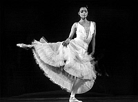 0140648 © Granger - Historical Picture ArchiveEKATERINA MAXIMOVA.   Ekaterina Maximova , russian dancer of the Bolshoi ballet dancing Fragment of a biography in Paris june 23, 1983. Full credit: AGIP - Rue des Archives / Granger, NYC -- All Rights Reserved.