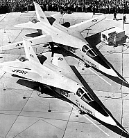 0141296 © Granger - Historical Picture ArchiveF 111A.   American versatile swing wing planes F-111A unofficially named the Aardvark used from 1967. Full credit: AGIP - Rue des Archives / Granger, NYC -- All rights reserved.
