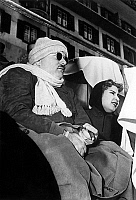 0141496 © Granger - Historical Picture ArchiveFAROUK 1ER D'EGYPTE AND SA 2E FEMME.   former King Faruk 1st of Egypt and his 2nd wife former queen Narriman Sadek in Saint Moritz, France january 08, 1953. Full credit: AGIP - Rue des Archives / Granger, NYC -- All rights reserved.