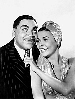 0141503 © Granger - Historical Picture ArchiveFATS WALLER AND LENA HORNE.   Fats Waller and Lena Horne in 1943. Full credit: AGIP - Rue des Archives / Granger, NYC -- All Rights Reserved.