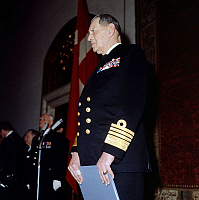 0142538 © Granger - Historical Picture ArchiveFREDERIK IX.   Frederik IX (1899-1972) king of Denmark in 1947-1972. Full credit: AGIP - Rue des Archives / Granger, NYC -- All Rights Reserved.
