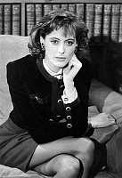 0145210 © Granger - Historical Picture ArchiveINES OF THE FRESSANGE.   Ines de La Fressange on tvprogram october 30, 1987. Full credit: AGIP - Rue des Archives / Granger, NYC -- All Rights Reserved.