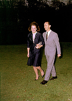 0145329 © Granger - Historical Picture ArchiveIRENE OF PAYS BAS AND HUGUES OF BOURBON PARME.   princess Irene of Holland (Beatrix-sister) and fiance prince Carlos Hugo of Bourbon Parma april 07, 1964 announcing theyr will warry outside Holland. Full credit: AGIP - Rue des Archives / Granger, NYC -- All Rights Reserved.