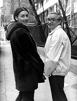 0146119 © Granger - Historical Picture ArchiveJACQUES GRELLO.   French song writer Jacques Grello with his fiancee actress Josiane Leveque may 5, 1970. Full credit: AGIP - Rue des Archives / Granger, NYC -- All rights reserved