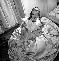 0147608 © Granger - Historical Picture ArchiveJEANNE MOREAU.   Jeanne Moreau in play Tartuffe at the Comedie Francaise jnauary 15, 1951. Full credit: AGIP - Rue des Archives / Granger, NYC -- All rights reserved.