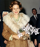 0149179 © Granger - Historical Picture ArchiveLA REINE FABIOLA OF BELGIQUE.   Queen Fabiola of Belgium, wife of king Baudouin1st, on november 15, 1965. Full credit: AGIP - Rue des Archives / Granger, NYC -- All rights reserved