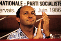 0149382 © Granger - Historical Picture ArchiveLAURENT FABIUS.   French politician Laurent Fabius at socialist congress june 1986. Full credit: AGIP - Rue des Archives / Granger, NYC -- All rights reserved.