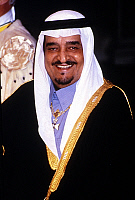 0150214 © Granger - Historical Picture ArchiveLE ROI FAHD.   Fahd Ibn Abdul Aziz Al Saud, king of Saudi Arabia. Full credit: AGIP - Rue des Archives / Granger, NYC -- All Rights Reserved.