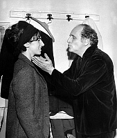 0150400 © Granger - Historical Picture ArchiveLEO FERRE.   singer Leo Ferre with his daughter Annie Bizy Butor (his wife's daughter) november 18, 1965. Full credit: AGIP - Rue des Archives / Granger, NYC -- All rights reserved
