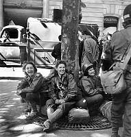 0150932 © Granger - Historical Picture ArchiveLIBERATION OF PARIS.   Liberation of Paris : WAC Women's army Corps August 26th, 1944 Neg:512 16. Full credit: AGIP - Rue des Archives / Granger, NYC -- All rights reserved.