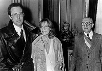 0152795 © Granger - Historical Picture ArchiveMARIAGE OF JEANNE MOREAU AND WILLIAM FRIEDKIN.   Wedding of actress Jeanne Moreau and director William Friedkin in Paris on february 8, 1977. Full credit: AGIP - Rue des Archives / Granger, NYC -- All rights reserved.