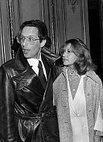 0152796 © Granger - Historical Picture ArchiveMARIAGE OF JEANNE MOREAU AND WILLIAM FRIEDKIN.   Wedding of actress Jeanne Moreau and director William Friedkin in Paris on february 8, 1977. Full credit: AGIP - Rue des Archives / Granger, NYC -- All rights reserved.