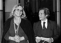 0153221 © Granger - Historical Picture ArchiveMARINA VLADY AND THE PROFESSEUR SCHWARTZENBERG.   Marina Vlady and her husband Professor Leon Schwartzenberg at gala of Pasteur et Weismann instituts in Paris, january 6, 1982. Full credit: AGIP - Rue des Archives / Granger, NYC -- All righ