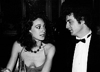 0153254 © Granger - Historical Picture ArchiveMARISA BERENSON AND RICHARD GOLLUB.   Marisa Berenson and her fiance Richard Gollub for diner for Best Awards at Rainbow Room, New York, december 6, 1981. Full credit: AGIP - Rue des Archives / Granger, NYC -- All rights reserved.