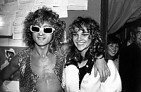 0154195 © Granger - Historical Picture ArchiveMICHEL POLNAREFF.   Michel Polnareff and his fiancee Charlotte after his concert at Olympia october 11, 1972. Full credit: AGIP - Rue des Archives / Granger, NYC -- All rights rese