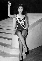 0154854 © Granger - Historical Picture ArchiveMISS FRANCE 1963.   Miss France 1963 : Muguette Fabris (22). Full credit: AGIP - Rue des Archives / Granger, NYC -- All Rights Reserved.