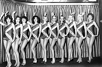 0154907 © Granger - Historical Picture ArchiveMISS FRANCE 1977.   candidates to the Miss France 1977 beauty contest, among whom the winner Veronique Fagot december 21, 1976. Full credit: AGIP - Rue des Archives / Granger, NYC -- All Rights Reserved.