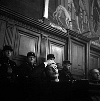 0158233 © Granger - Historical Picture ArchivePROCES BERNARD FAY.   Trial of Bernard Fay on november 25, 1946 (for collaboration during ww2, he was director of the french national library). Full credit: AGIP - Rue des Archives / Granger, NYC -- All rights reserved.