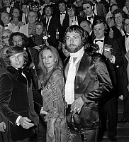 0159740 © Granger - Historical Picture ArchiveROMAN POLANSKI.   Roman Polanski (l) has presented at cannes festival film Macbeth with Franca Annis and John Finch may 13, 1972. Full credit: AGIP - Rue des Archives / Granger, NYC -- All Rights Reserved.