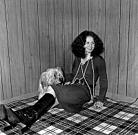 0160212 © Granger - Historical Picture ArchiveSARAH MILES.   Actress Sarah Miles with dog Gladys during presentation of film The Sailor who fell from Grace with the Sea april 1976. Full credit: AGIP - Rue des Archives / Granger, NYC -- All Rights Reserved.