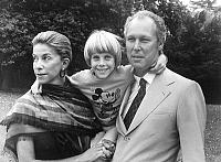 0161930 © Granger - Historical Picture ArchiveVICTOR EMMANUEL IV OF SAVOIE.   prince Victor Emmanuel IV of Savoy (son of former king UmbertoII of Italy) here with his wife Marina Doria and their son Emmanuel Filiberto (7) in public gardens in Boulogne France june 11, 1979. Full credit: AGIP - Rue des Archives / Granger, NYC -- All rights reserv