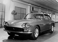 0162108 © Granger - Historical Picture ArchiveVOITURE FERRARI.   The new Ferrari 330 GT on january 14, 1964. Full credit: AGIP - Rue des Archives / Granger, NYC -- All Rights Reserved.