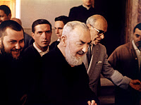 0163464 © Granger - Historical Picture ArchiveSAINT PIO OF PIETRELCINA   (1887-1968). Born Francesco Forgione. Italian Capuchin priest and missionary, canonized by the Catholic Church in 2002. Photograph, 1963.