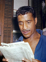 0170432 © Granger - Historical Picture ArchiveSAMMY DAVIS JR.   (1925-1990). American actor and singer. Photographed c1965. Full credit: Fititjian - Rue des Archives / Granger, NYC -- All rights reserved.