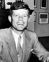 0175389 © Granger - Historical Picture ArchiveJOHN F. KENNEDY (1917-1963).   35th President of the United States. Photographed while serving as a senator, 1952.