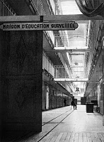 0176408 © Granger - Historical Picture ArchiveFRANCE: PRISON.   Interior of 'Maison d'education surveillee,' a house for delinquents, in Fresnes, France. Photograph, 20th century.